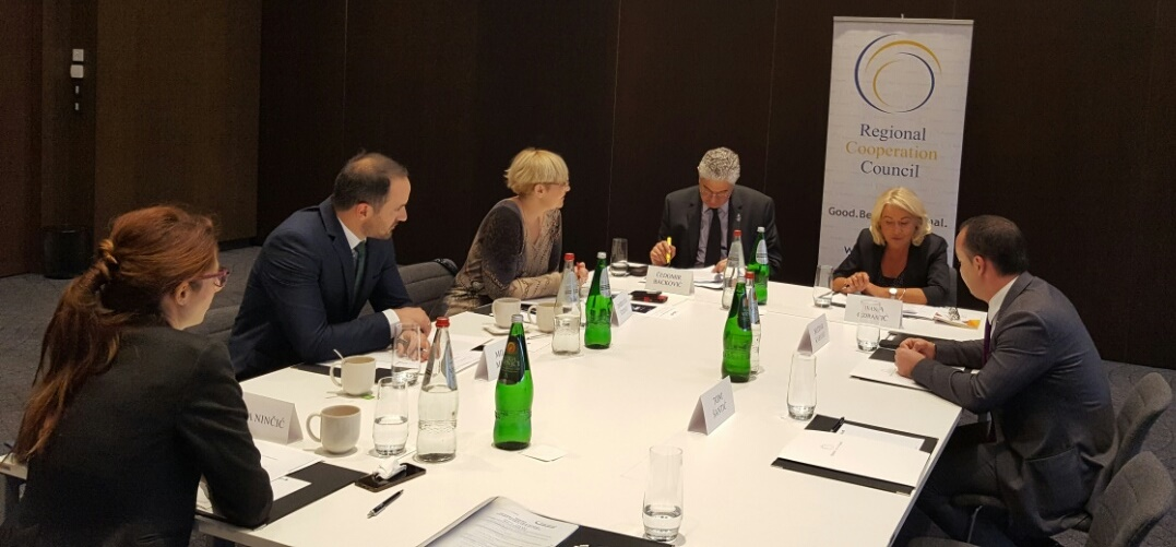 6th meeting of the Working Group on Justice, held in Belgrade on 9 November 2016 under auspices of the Regional Cooperation Council (Photo: RCC/Elvira Ademovic)
