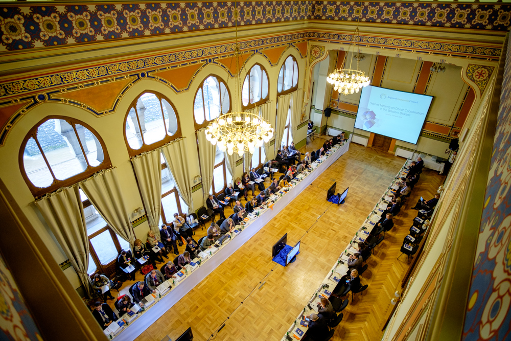 RCC's  Meeting on Donor Coordination in the Western Balkans (Photo: RCC/Amer Kapetanovic)