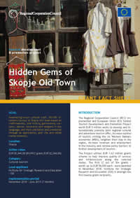 Hidden Gems of Skopje Old Town, GRANT FACT SHEET