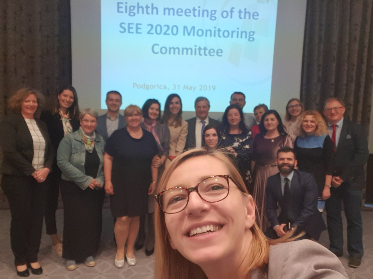 Participants of the 8th meeting of the SEE 2020 Strategy Monitoring Committee, in Podgorica on 31 May 2019 (Photo: RCC/Maja Pinjo Talevska)