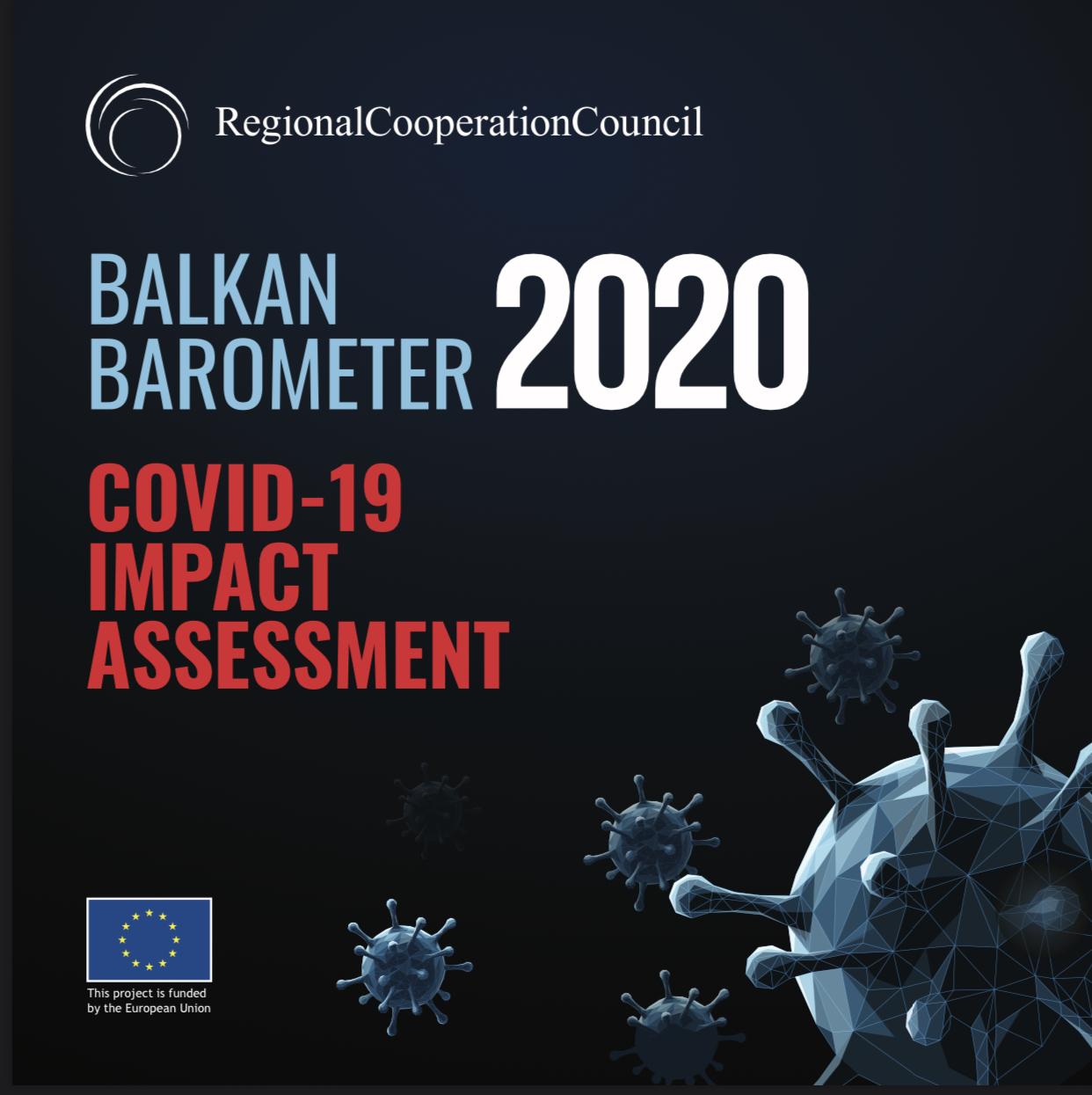 Balkan Barometer - COVID19 pandemic Impact Assessment Infographics