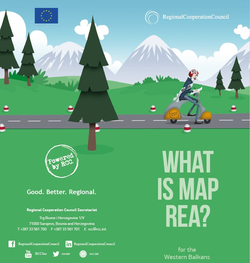 Leaflet on Multi-annual Action Plan on a Regional Economic Area in the Western Balkans - MAP