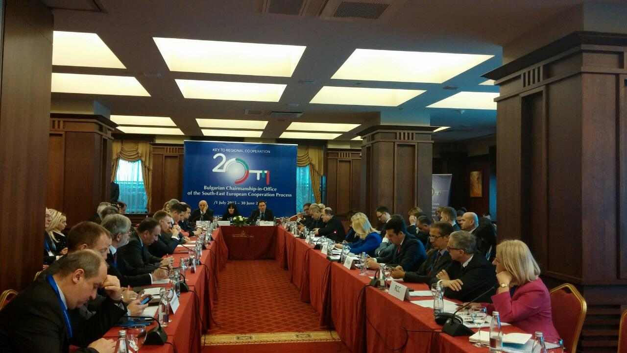 Bulgarian Minister of Foreign Affairs Daniel Mitov hosted the Second Informal Meeting of the Foreign Ministers of the South-East European Cooperation Process (SEECP) on 2 February 2016 in Sofia, Bulgaria. (Photo: RCC/Dorin Vremis)