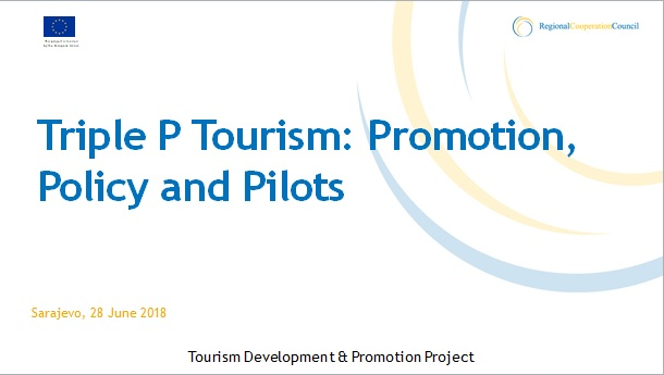 Tourism Development and Promotion Project presentation by Snjezana Derviskadic, Project's Team Leader