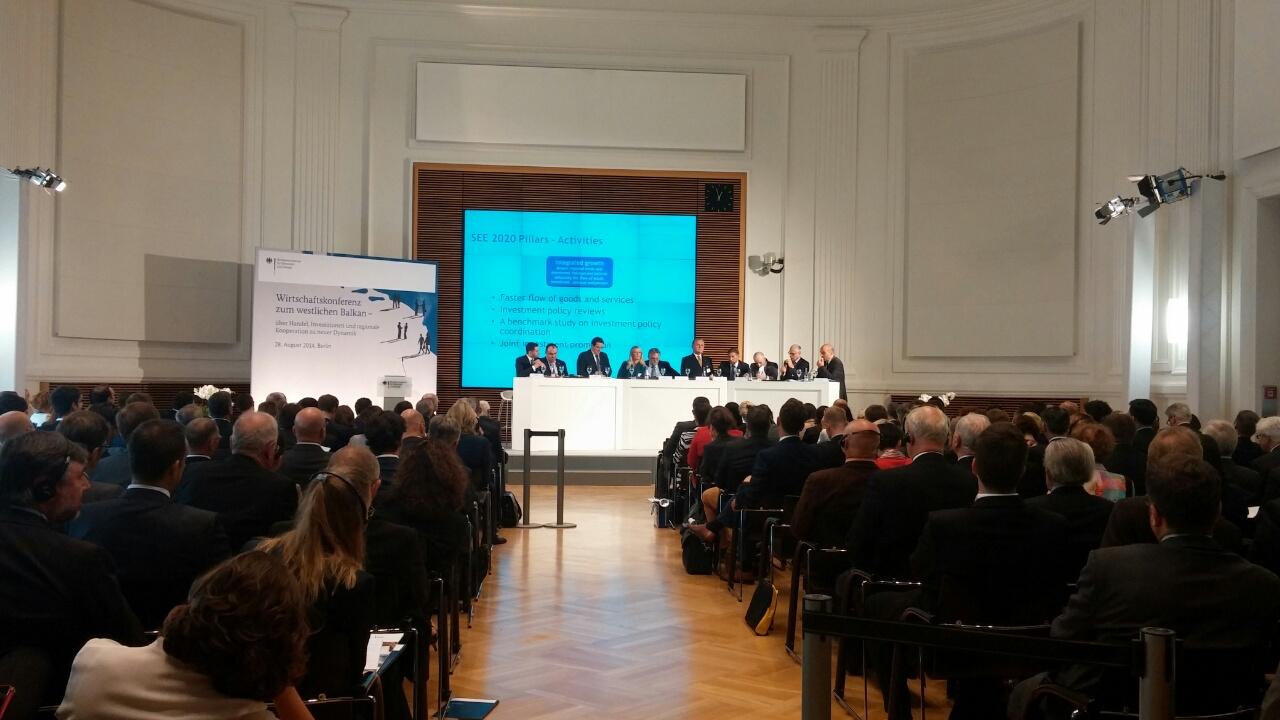 RCC Secretary General  attends Western Balkans conference in Berlin