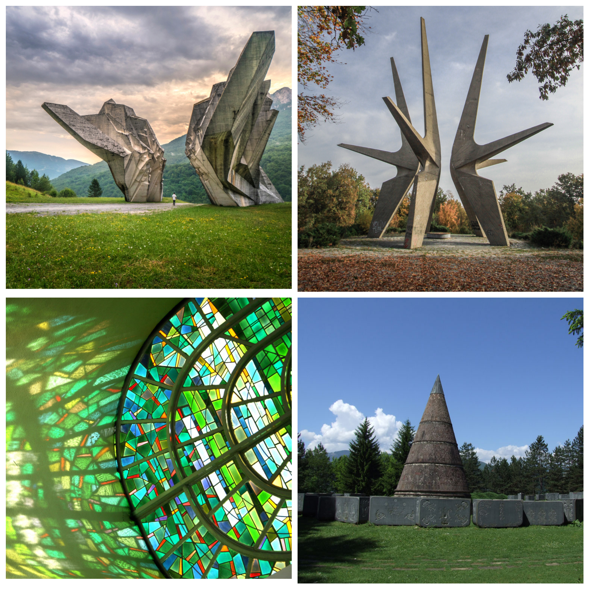 Balkan Monumental Trail encompasses region's iconic World War II (WWII) monuments