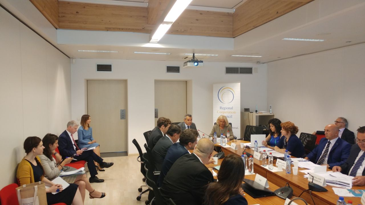 RCC hosts meeting of the Western Balkans' Judicial Training Institutions, on 6 July 2017 in Brussels. (Photo: RCC/Elvira Ademovic)