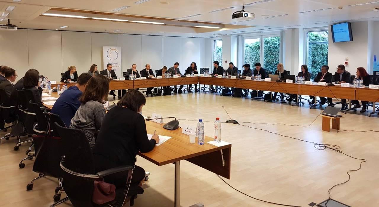Regional Meeting on Roaming Policy in the Western Balkans (WB) in Brussels, 5 April 2018 (Photo: RCC/Nadja Greku)