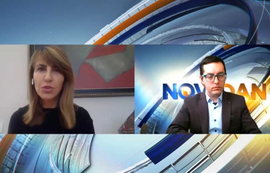 Majlinda Bregu, RCC SGs interview for N1 about the Western Balkans during & after COVID-19 pandemic