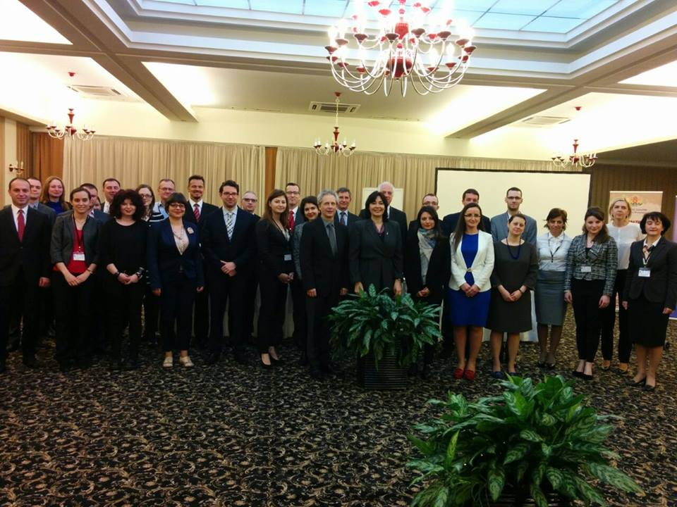 RCC was at the 11th Winter School on Diplomacy, in Sandanski, Bulgaria, on 14 March 2016. (Photo: Bulgarian Diplomatic Institute)