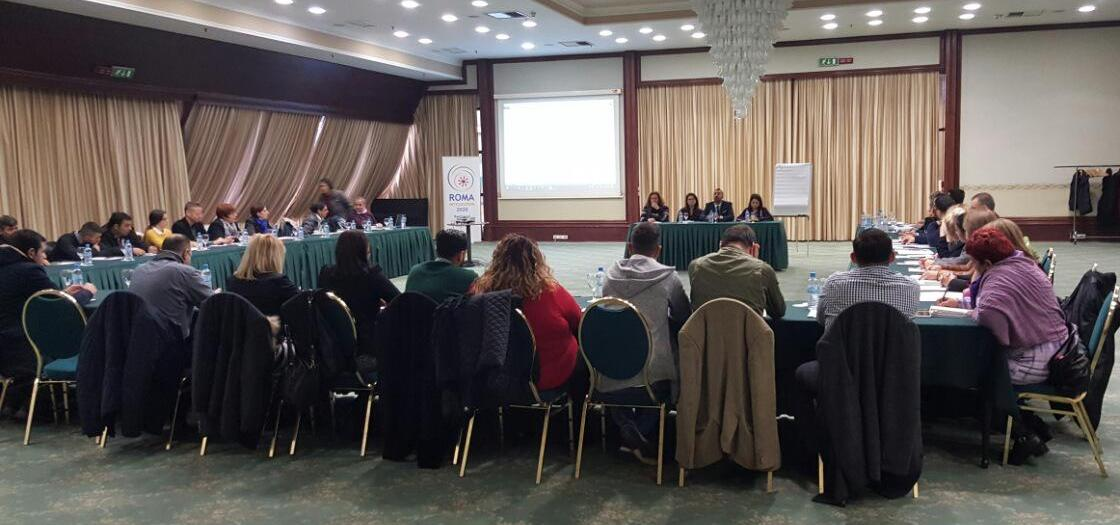 "Public Dialogue Forum on Roma Integration titled ""Rules of Procedure of The National Coordination Body, The Roma Information Centres, and The Roma Health Mediators"" held in Skopje on 24-25 November 2016 (Photo: RCC/Aleksandra Bojadjieva)"