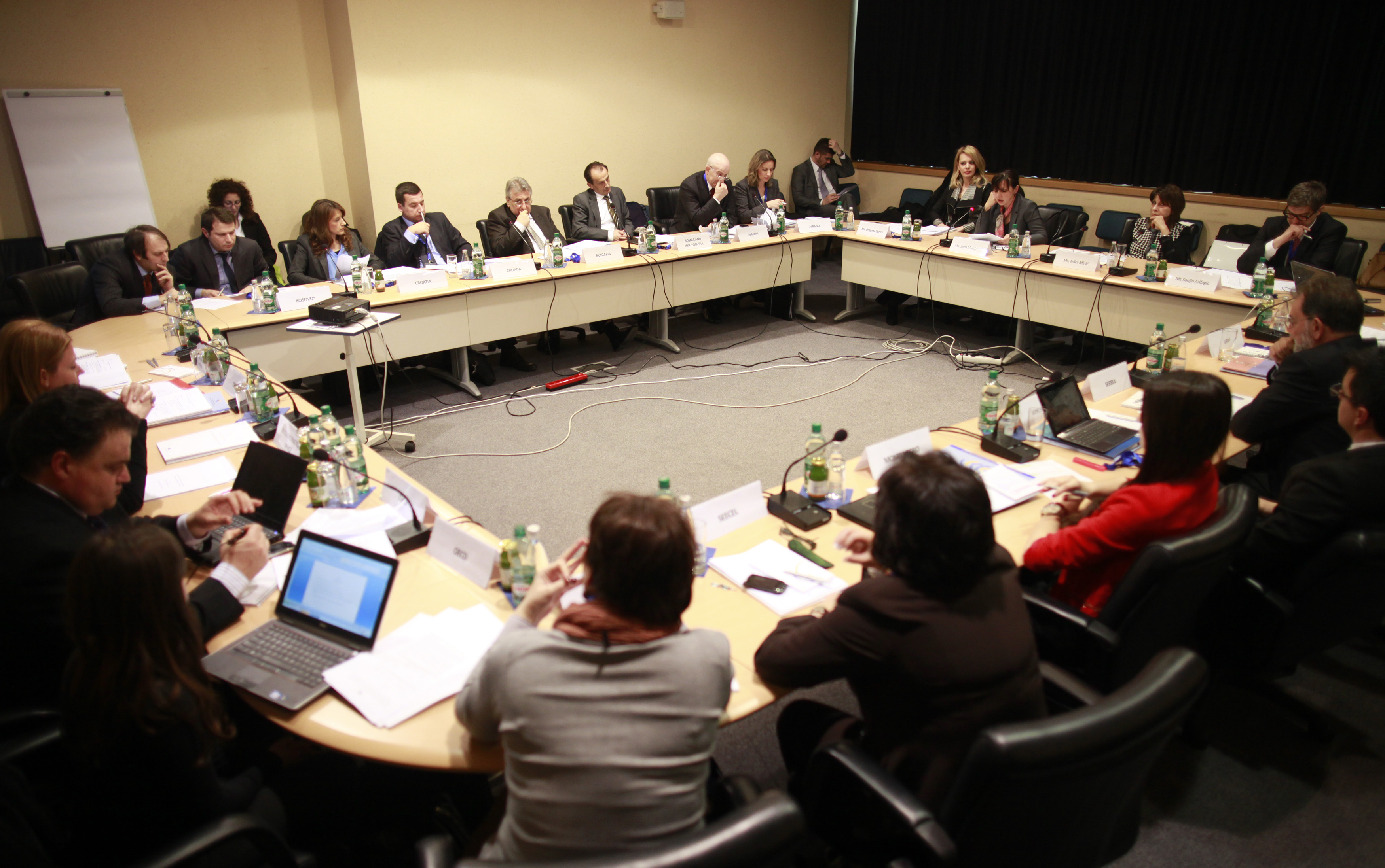12th meeting of the RCC's South East Europe Investment Committee (SEEIC) takes place in Sarajevo, on 19 March 2013 (Photo: RCC/Dado Ruvic).
