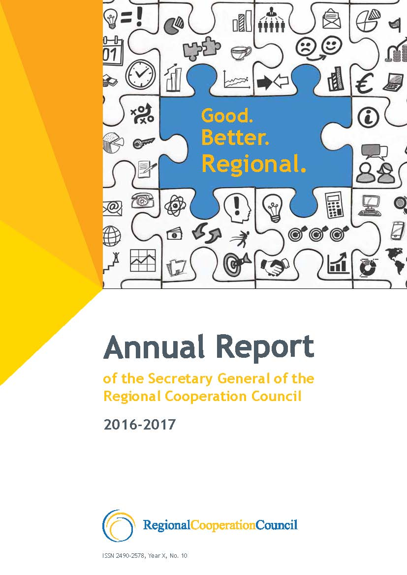 Annual Report of the Secretary General of the Regional Cooperation Council 2016-2017