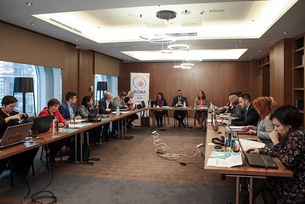 Third Task Force meeting of the Regional Cooperation Council (RCC)'s Roma Integration 2020 (RI2020) project, held in Skopje in December 2018 (Photo: RCC/Saso Alusevski)
