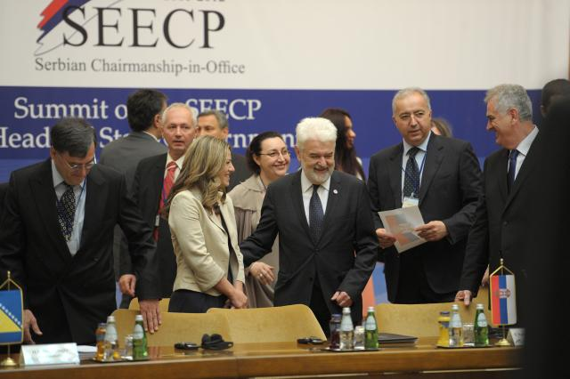 Heads of State and Government of the South-East European Cooperation Process met in Belgrade, Serbia, on 15 June 2012. (Photo: Tanjug)