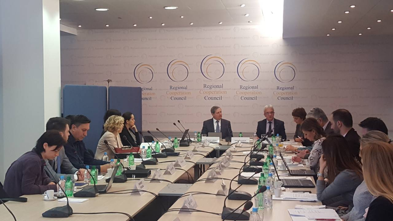 12th meeting of the RCC-established regional Working Group on Justice (Photo: RCC/Nedima Hadziibrisevic)