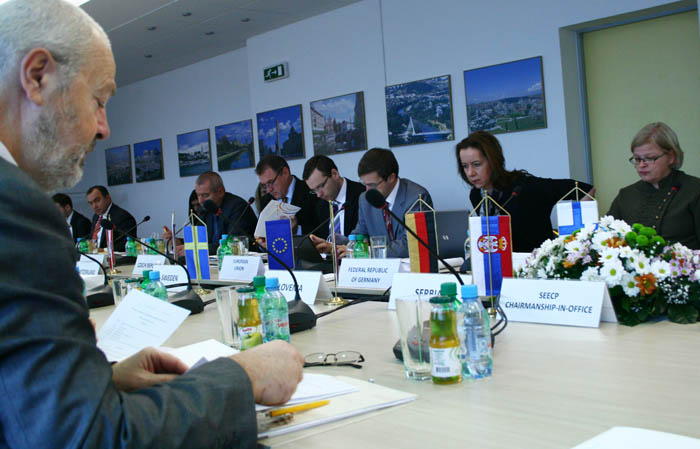 Meeting of the RCC Board, held in Sarajevo, BiH, on 8 December 2011. (Photo RCC/Selma Ahatovic-Lihic)
