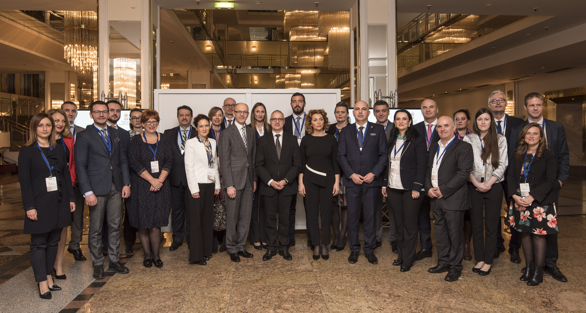RCC hosts a High-level Panel on Environment and Climate Action in the Western Balkans, on 17 November 2017, in Bonn, Germany. (Photo: RCC/Jerome Hubert)