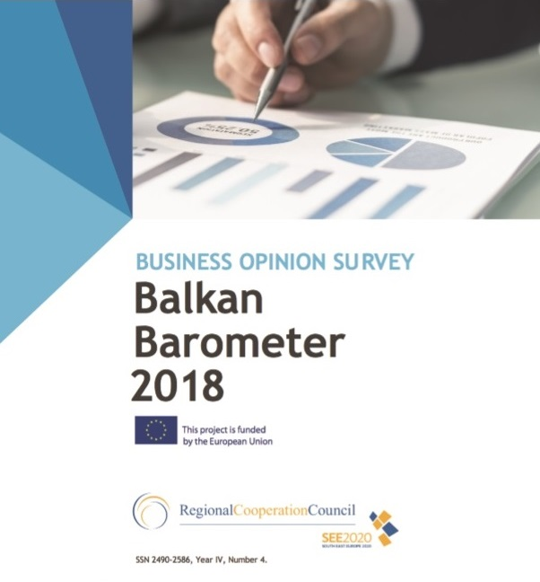 BALKAN BAROMETER 2018: BUSINESS OPINION SURVEY