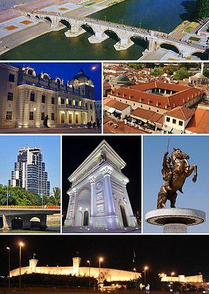 Skopje, capital of the Former Yugoslav Republic of Macedonia (Photo: http://en.wikipedia.org)