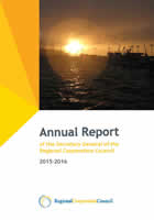Annual Report of the Secretary General of the Regional Cooperation Council on Regional Cooperation in South East Europe in 2015-2016