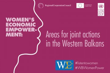 RCC and UNDP: Women's Economic Empowerment: Areas for joint actions in the Western Balkans
