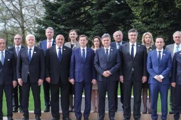 RCC Secretary General, Goran Svilanovic (top first-left), at the SEECP Summit held at Brdo pri Kranju Slovenia, on 24 April 2018. (Photo: Aleš Beno - Anadolu Agency)