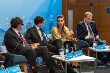 RCC Secretary General Majlinda Bregu at Dubrovnik Forum Panel