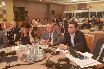 Participants of a regional conference on innovative approaches to employment of Roma, jointly organized by the RCC's projects Roma Integration 2020 and Employment and Social Affairs Platform, and Roma Education Fund,  on 10 December 2018 in Budapest. (Photo: RCC/Alma Arslanagic-Pozder)
