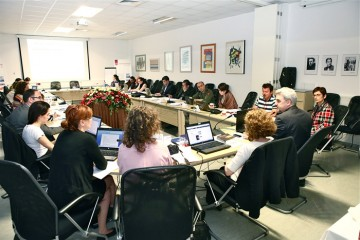 Participants of the first Academy on Media Law in South East Europe, held in Zagreb, Croatia, on 3-8 June 2012. (Photo: Courtesy of the European Association of Public Service Media in South East Europe)