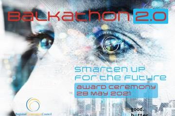 Balkathon 2.0 Award Ceremony to take place on 28 May 2021 (Design: RCC/Samir Dedic)