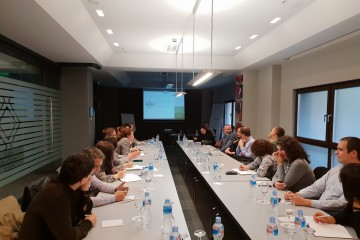 RCC's ESAP project supported a visit of the Albanian delegation from Ministry of Economy and Finance to Skopje to meet with Ministries of Labour and Social Policy, Education, Finance and Secretariat for European Affairs on 29 October 2018. (Photo: RCC ESAP/Sanda Topic)