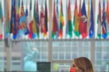 RCC Secretary General Majlinda Bregu was in the official visit to Washington DC in September 2021 (Photo: RCC/Selma Ahatovic-Lihic)