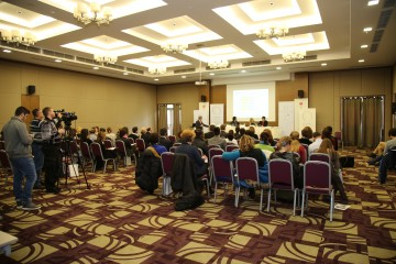 RCC roadshow on SEE 2020 strategy implementation, monitoring and promotion, in Podgorica, on 5 February 2015. (Photo RCC)