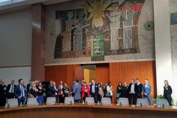 The Summit's Steering Committee finalizing preparations for the 2nd Western Balkans Digital Summit, that is to take place on 4-5 April in Belgrade (Photo: RCC/Nadja Greku)