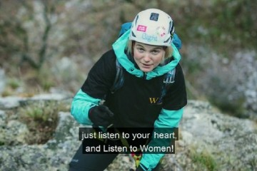 WE: Meet Uta Ibrahimi, a first woman from Kosovo* to summit Everest and also a woman who dedicated herself to mountaineering and tourism exposing true beauties of Kosovo* and the region to as many people from the entire world as possible.