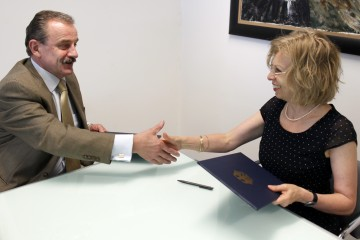 Hido Biscevic (left), RCC Secretary General, and Ulrike Knotz, German Ambassador to Bosnia and Herzegovina