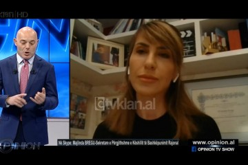 RCC Secretary General Majlinda Bregu spoke at the Tirana based RTV Klan's Opinion show on 19 March 2020
