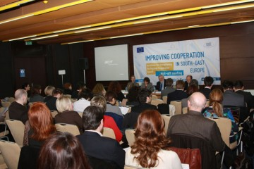 Participants of the kick-off meeting for the project Improving Cooperation in South-East Europe by Actions for Strengthening the Regional Cooperation Council, held in Sarajevo on 16 March 2012. (Photo: Central European Initiative)