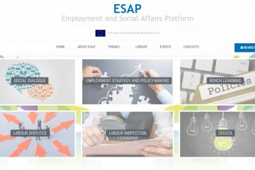 Employment and Social Affairs Platform (ESAP), http://www.esap.online/ (Photo: RCC)