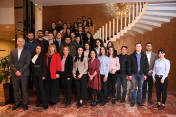 Participants of the Community Dialogue with Youth at Risk held in Tirana on 5 March 2020 (Photo: RCC/Armand Abazaj)