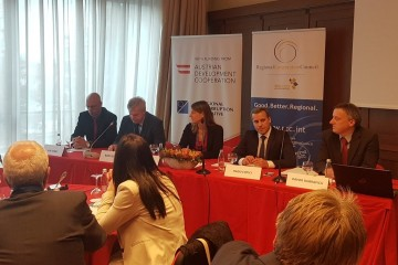 Opening of the Regional Forum on Effective Prevention of Corruption through Risk Assessment, 25-26 October in Ljubljana, Slovenia (Photo: RAI)