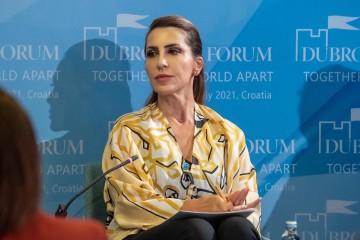 RCCSG Majlinda Bregu at Dubrovnik Forum