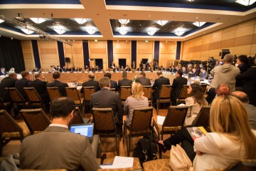 The 2015 RCC Annual Meeting took place in Tirana on 22 May 2015. (Photo: Ministry of Foreign Affairs of Albania/Eriona Cami)