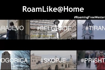 RoamLike@Home in the Western Balkans. RCC asked all 6 region's capitals what does #RoamingFreeWesternBalkans mean for them (Photo: RCC)