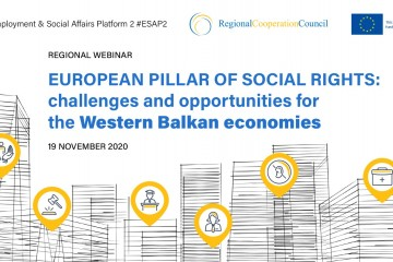 ESAP 2: Regional meeting on challenges and opportunities of Social Rights in the Western Balkans was held online on 19 November 2020