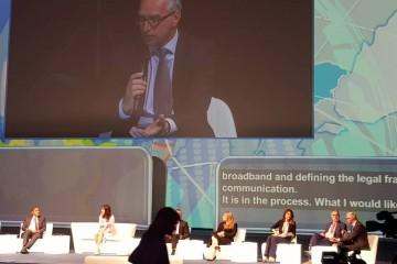 RCC Secretary General Goran Svilanovic at the Digital Assembly 2018, in Sofia on 25 June 2018. (Photo: RCC/Radovan Nikcevic)