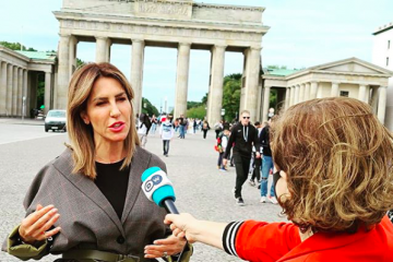 RCC Secretary General Majlinda Bregu for Deutsche Welle