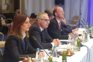 The RCC Secretary General Goran Svilanovic takes part in the meeting of Western Balkans (WB) Six Foreign Ministers in Sarajevo on 16 March 2018. (Photo: RCC/Gordana Demser)