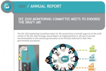 Monitoring Committee of RCC's SEE 2020 Strategy meets to discuss and provide comments on the Strategy's early draft Annual Implementation Report (ARI) in Podgorica, 18 May 2018 (Photo: RCC/Nadja Greku)